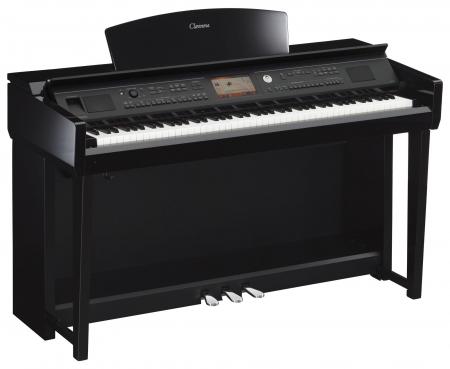 Yamaha CVP-705 PE Clavinova Digitalpiano Schwarz Hochglanz