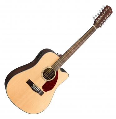 Fender CD-140SCE-12 NAT w/ Case