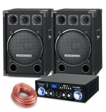 McGrey PA set completo PowerDJ-2000 1200W