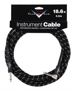 Fender Custom Shop Cable Black Angle 5,5m