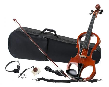 Classic Cantabile EV-81 E-Violine Komplettset + Kopfhörer  - Retoure (Zustand: sehr gut)
