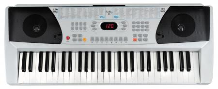 Funkey 54 Keyboard (100 sounds, 100 rhythms, power supply, microphone, music stand)