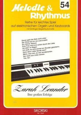 Melodie & Rhythmus Zarah Leander - Ihre großen Erfolge