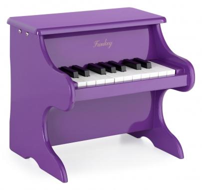 FunKey MP-18 mini jouet piano pour enfants violet