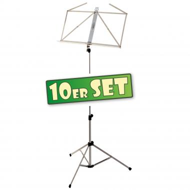 SET of 10 Classic Cantabile Mid-Weight Music Stand