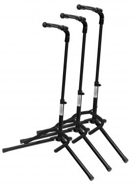 3-Piece Classic Cantabile GS-200F Foldable Guitar Stand Set