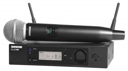 Shure GLXD24R/SM58 Digital Vocal Funksystem