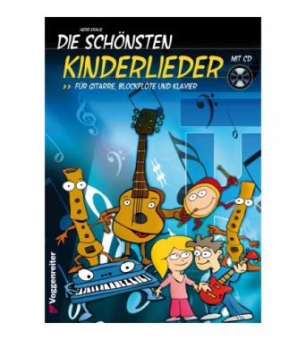 Die schönsten Kinderlieder + CD