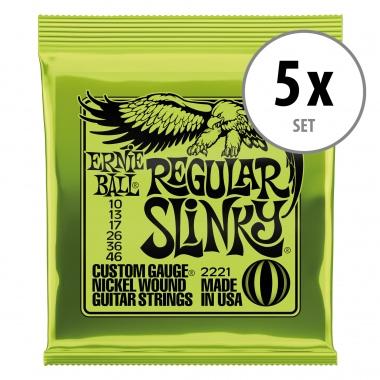 Ernie Ball 2221 Regular Slinky - 5er Pack