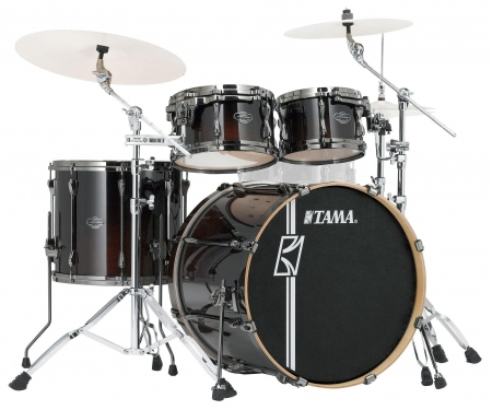 Tama Superstar Hyper-Drive Maple ML42HLZBN-DMF Drumkit Dark Mocha Fade