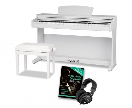 Steinmayer DP-320 WM piano numérique blanc mat SET