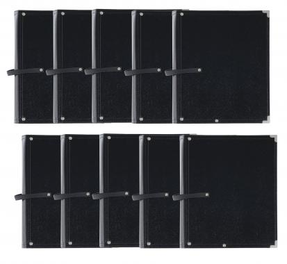 Classic Cantabile B02BK music case standard set of 10