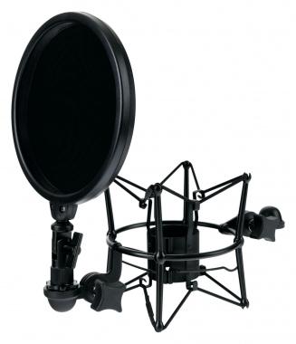 Pronomic MSP-45 suspension de microphone avec filtre anti-pop 45-52 mm