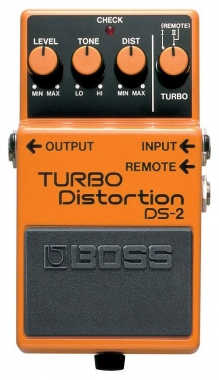 Boss DS-2 Pedal Turbo Distorsión