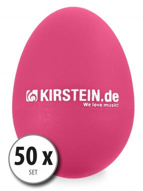 50x Kirstein ES-10P Egg Shaker Pink Medium-Light Set