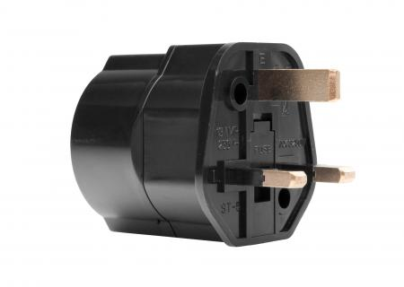 Pronomic TA-10BK UK travel adapter / travel plug