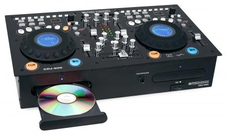 Pronomic CDJ-500 Full-Station Doppio lettore CD DJ