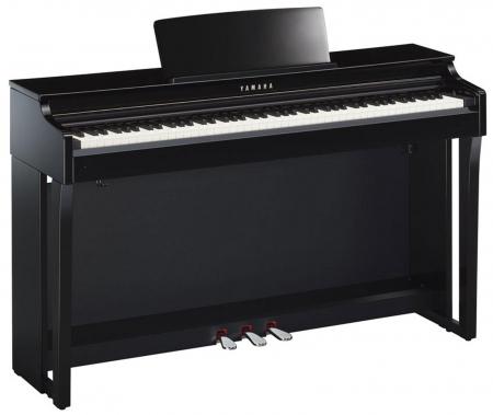Yamaha CLP-625 PE Digitalpiano schwarz hochglanz