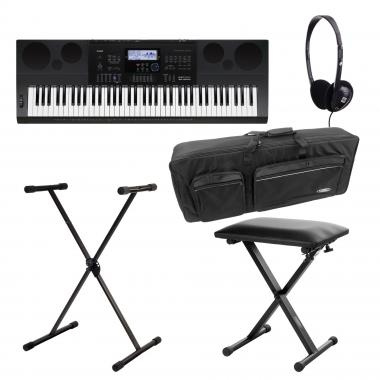 SET Casio WK-6600 Keyboard Deluxe
