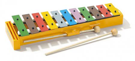 Sonor Glockenspiel für Kinder Sopran Bunt  - Retoure (Zustand: sehr gut)