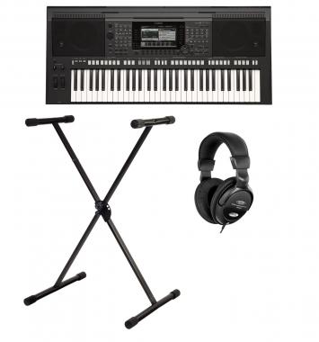 Yamaha PSR-S770 Keyboard SET inkl. Ständer + Kopfhörer