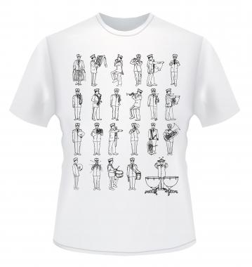 "Kirstein T-Shirt ""Marching Band"" Größe L"