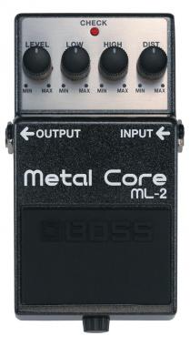 Boss ML-2 Metal Core Pedal Distorsion-Overdrive