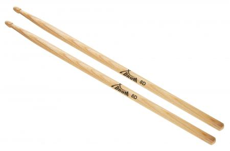 XDrum 8D Wood Hickory Drumsticks Paar