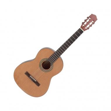 Calida Loretta Klassikgitarre 1/2 natur  - Retoure (Zustand: sehr gut)