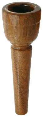 Lechgold MUA21 Walnut Alphorn Mouthpiece 21 mm