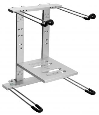 Pronomic LS-100S Support Ordinateur Portable Argenté