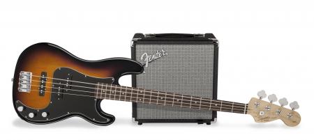 Fender Squier Affinity PJ Bass Pack BSB