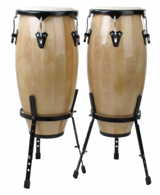 XDrum Conga-Set (neutraal) 10 en 11 inch