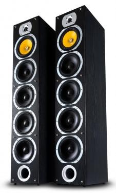 Bennett & Ross Exosphere HiFi tower speaker pair black 2x 200W RMS