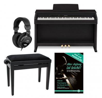 Casio CELVIANO AP-460 BK Digitalpiano schwarz SET