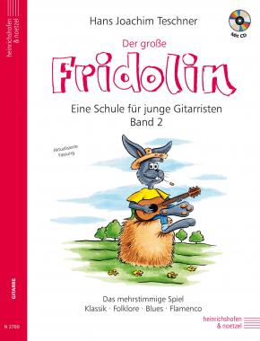 Der große Fidolin - Eine Schule für junge Gitarristen, Band 2 + CD