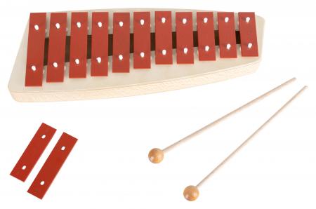 Sonor NG 10 Glockenspiel Sopran (Rot)