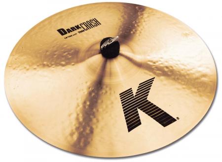 "Zildjian K 18"" Dark Crash Thin"