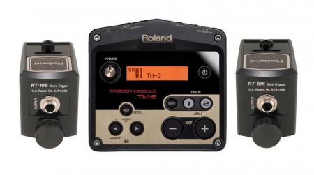 Roland TM-2 Standard Package Triggerset 1x Kick-, 1x Snaretrigger+ Drummodul