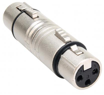 Pronomic AD XFXF Adapter XLR female. / XLR female. (XLR Adapter Plug female)