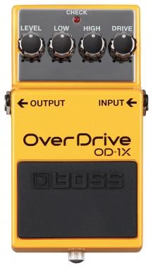 Boss OD-1X Distortion mit MDP Technologie