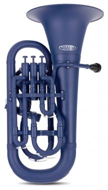Classic Cantabile MardiBrass plastic Bb Euphonium matte blue