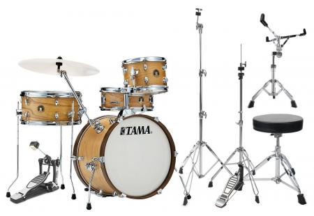 Tama LJS48S-SBO Club Jam Kit Satin Blonde Set inkl. Hardware