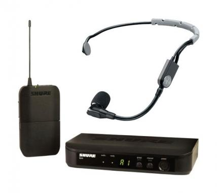 Shure BLX14/SM35 S8 Headset Funksystem