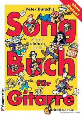 Peter Bursch's Song Buch für Gitarre + CD