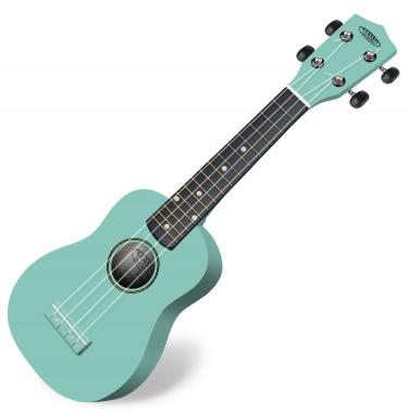 Classic Cantabile US-100 TQ Ukulélé soprane turquoise