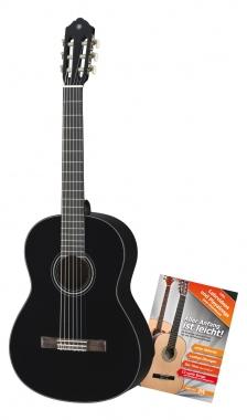 Yamaha C40BL Konzertgitarre inkl. Schule Set