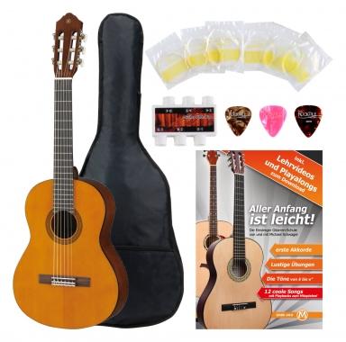 Yamaha CGS 102 1/2 Konzertgitarre + Zubehörset Fichte