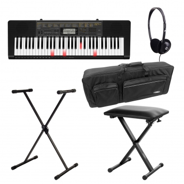 Casio LK-265 Leuchttasten Keyboard Deluxe Set
