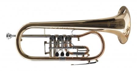 Classic Cantabile FL-43G Flicorno Sib ottone oro